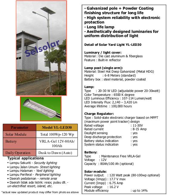PJU surya murah dan handal